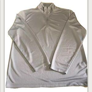 Izod Golf Mens Gray Pullover Size Medium